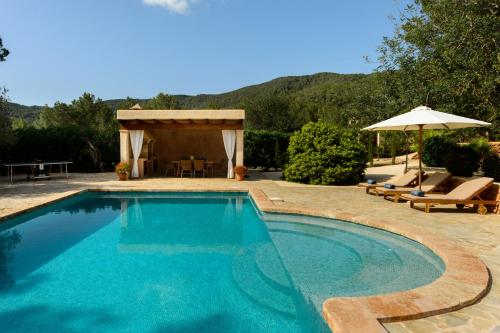 The swimming pool at or near Villa Can Cunsey