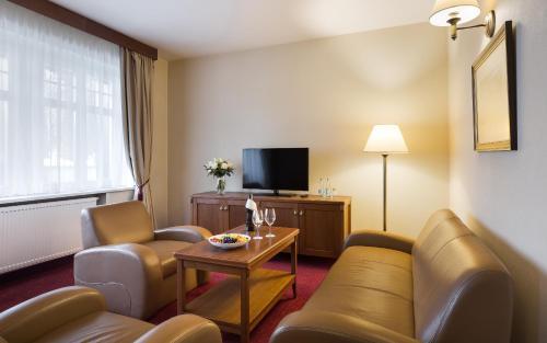 Część wypoczynkowa w obiekcie Bukowy Park Hotel Medical SPA
