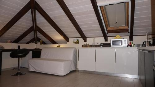 Η κουζίνα ή μικρή κουζίνα στο Fegaropetra studios