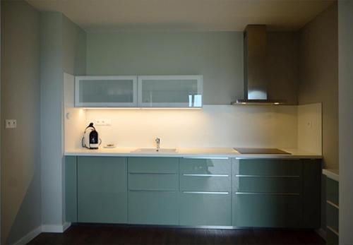 Kuchyňa alebo kuchynka v ubytovaní Panoráma Bojnice