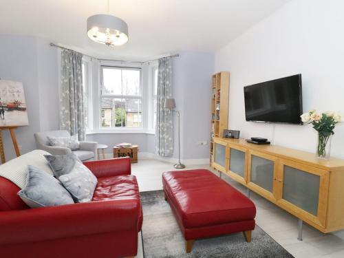 A seating area at Flat 3 Avon Villa, Bradford-on-Avon