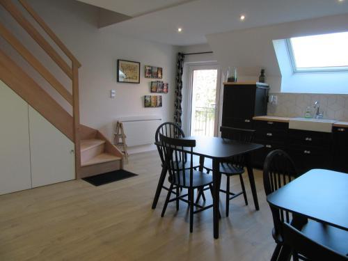 A kitchen or kitchenette at Les Bordes