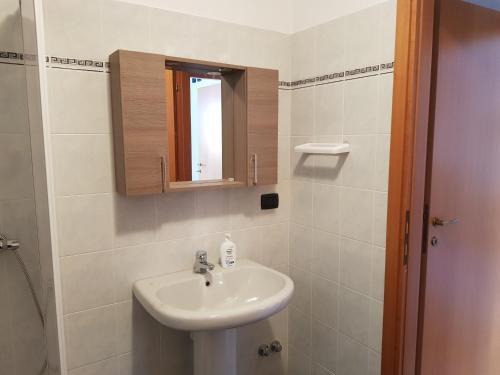 A bathroom at Casa Sabrina