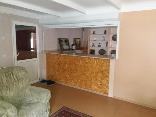 """The lobby or reception area at """"Визит, как дома"""""""