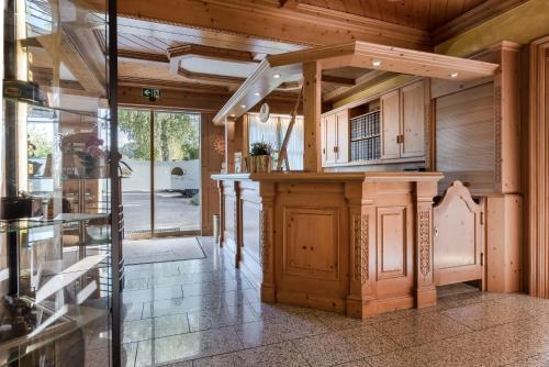 Küche/Küchenzeile in der Unterkunft Landhaus Sonnenhof