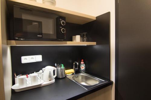 Cucina o angolo cottura di Hotel Valcha