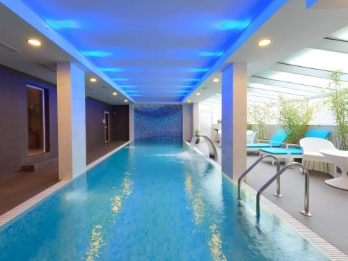 The swimming pool at or near Agusta Spa Hotel
