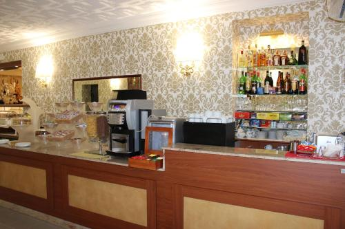 The lounge or bar area at Hotel Nespolo D'Oro