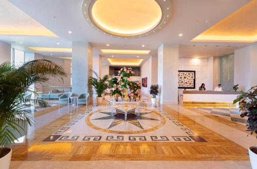 The lobby or reception area at Arum Barut Collection - Ultra All Inclusive