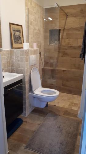 A bathroom at Domaine du Garret