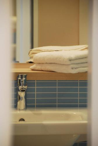 Ein Badezimmer in der Unterkunft IBB Blue Hotel Paderborn
