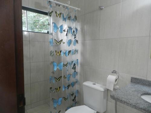 A bathroom at Moncalmterapia