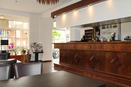 Hall ou réception de l'établissement New City Hotel Scheveningen