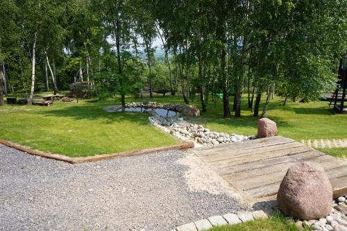 Ogród w obiekcie Świetnokrzyska Chata