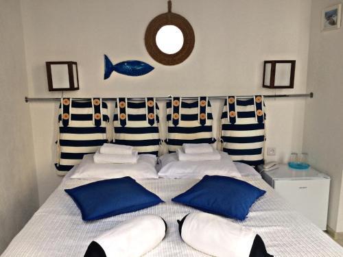 Кровать или кровати в номере Бутик отель 9