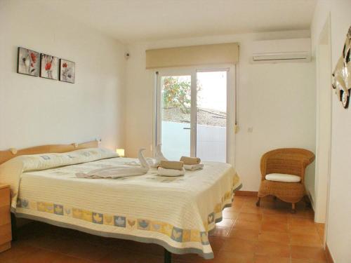 Cama o camas de una habitación en Villa Pacifico