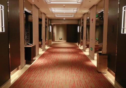 The lobby or reception area at Hyatt Regency Zhenjiang