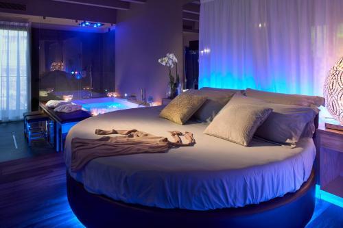 Letto o letti in una camera di Hotel Locanda Al Piave ***S