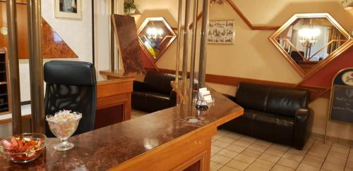 The lobby or reception area at Sam Pension - MyRoom