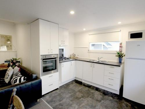 A kitchen or kitchenette at Cara