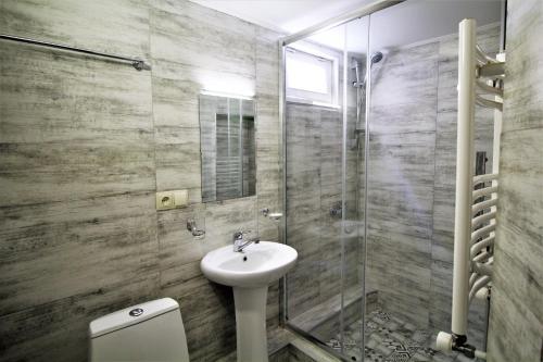 Ванная комната в Hotel Loft