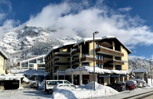 T3 Alpenhotel Flims during the winter