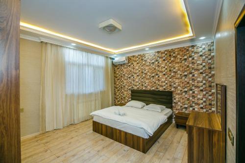 Cama ou camas em um quarto em Apartment in City Center