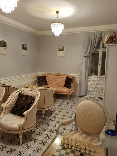 Posedenie v ubytovaní Villa Vodicka