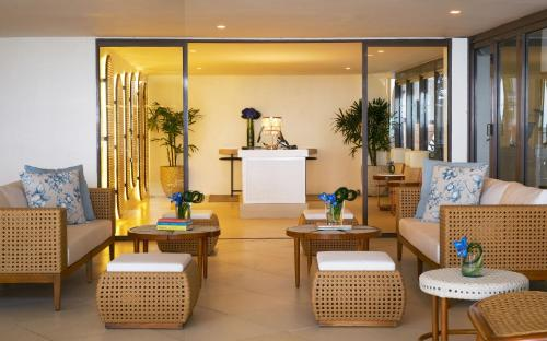 The lobby or reception area at Discovery Shores Boracay