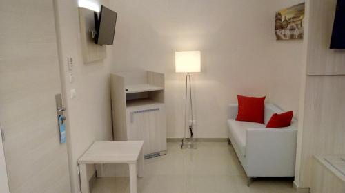 A seating area at Hotel Bel Soggiorno