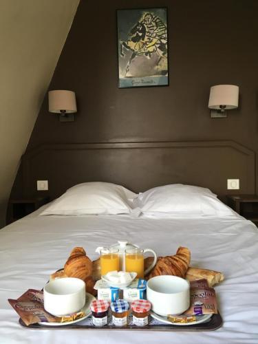 Opções de café da manhã disponíveis para hóspedes em Nadaud Hotel