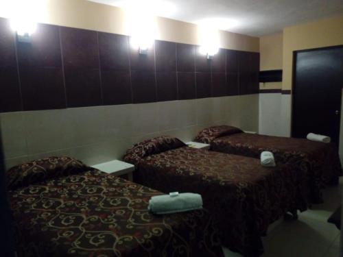 Cama o camas de una habitación en Hacienda Cañada Rica 2