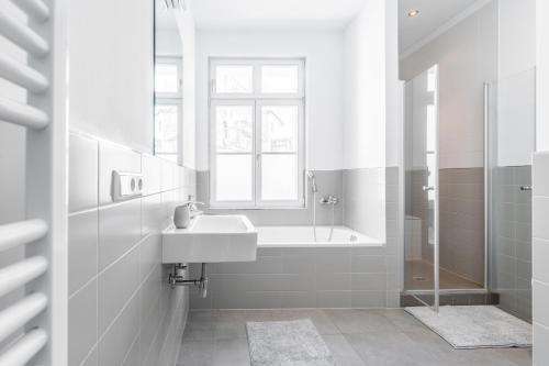 A bathroom at Apartment Anime