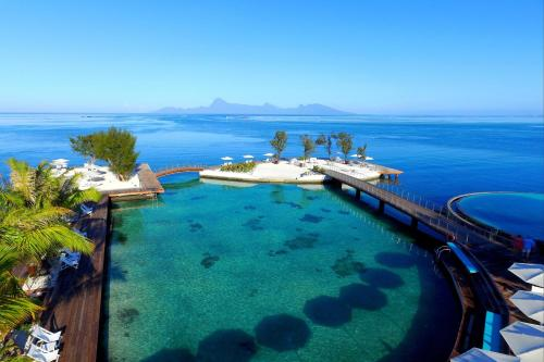A view of the pool at Manava Suite Resort Tahiti or nearby