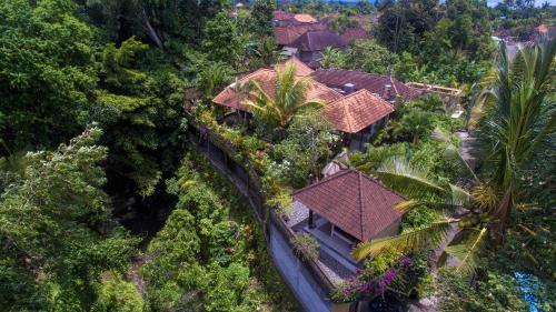 A bird's-eye view of Villa Alam Surya Ubud