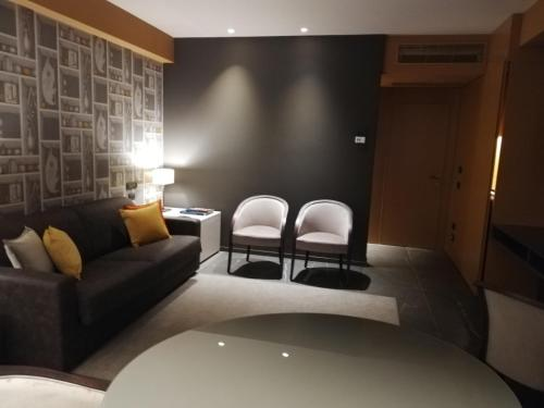 Area soggiorno di Grand Hotel San Marino