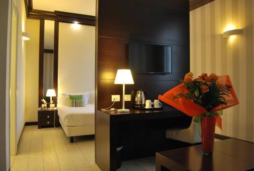 TV/Unterhaltungsangebot in der Unterkunft Palazzo Bezzi Hotel