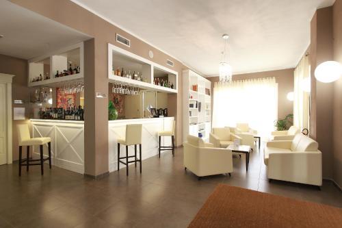 Salon ou bar de l'établissement Hotel Margherita