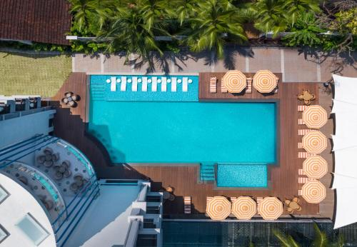 A view of the pool at Le Meridien Goa, Calangute or nearby