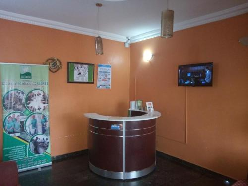 The lobby or reception area at Jem Guest House