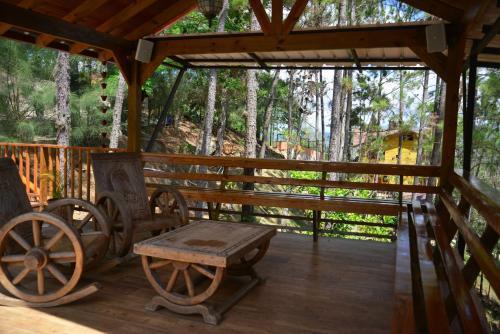 A balcony or terrace at Villa Sueño Alcanzado