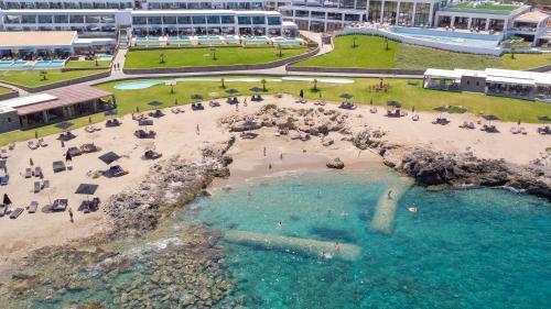 A bird's-eye view of Abaton Island Resort & Spa