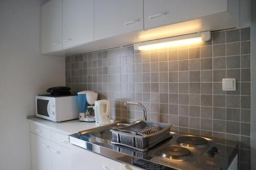 A kitchen or kitchenette at Apartments Vlašić