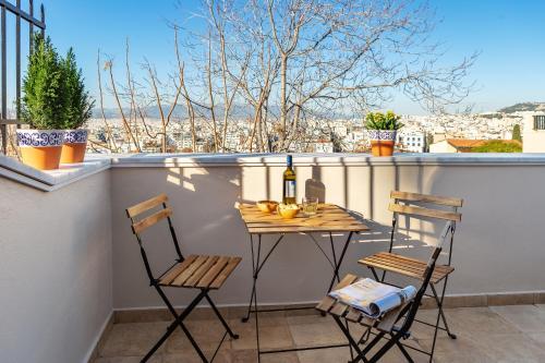 A balcony or terrace at ATHÉNÉE RESIDENCE by K&K