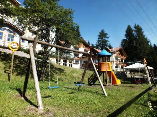 Children's play area at Hotel Negritella