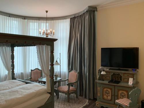 TV/Unterhaltungsangebot in der Unterkunft Best Western Plus Theodor Storm Hotel
