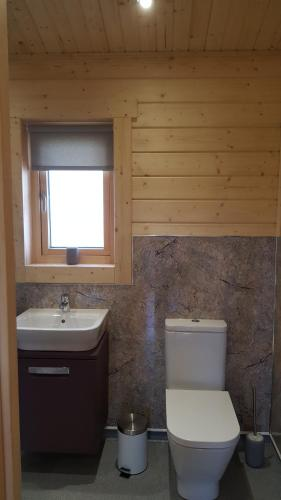 A bathroom at Ruth's Retreat