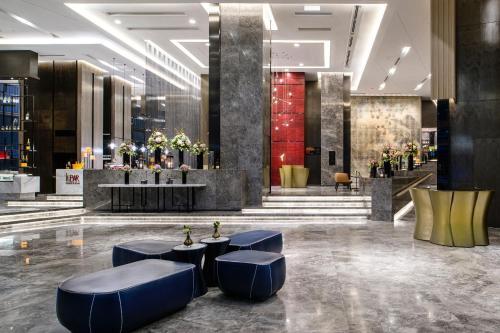 The lobby or reception area at Sofitel Kuala Lumpur Damansara