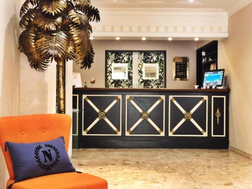 The lobby or reception area at Napoleon