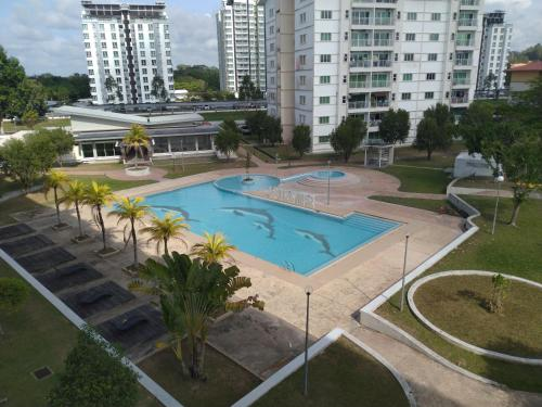 A view of the pool at Izzanial Homestay or nearby